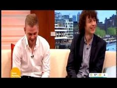 Minecraft's Stampy Longnose And Squid On Good Morning Britain Interview 26/5/2014