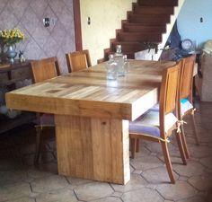 Pallet Dinner Table #PalletTable
