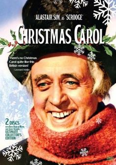 Scrooge (A Christmas Carol) starring Alastair Sim This is the very best adaptation, in my opinion. It probably helps that it is a British-made film. A Christmas Carol 1951, Classic Christmas Movies, Holiday Movies, Christmas Eve, Christmas Classics, Vintage Christmas, Xmas Movies, Christmas Comics, Christmas Specials