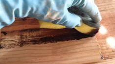 Como envelhecer madeira em casa Tuorial 1/2