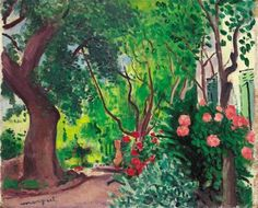 View L'ALLÉE DU JARDIN By Albert Marquet; Access more artwork lots and estimated & realized auction prices on MutualArt. Abstract Landscape, Landscape Paintings, Landscapes, Rio Sena, Raoul Dufy, Paintings I Love, Floral Paintings, Garden Painting, Henri Matisse