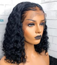 Natural Wave Short Bob Human Hair Lace Wig With Baby Hair Pre Plucked Lace Front Human Hair Wigs Glueless Peruvian Remy Hair Hair Pelo Afro, Short Bob Wigs, Wig Bob, Short Human Hair Wigs, Lace Hair, Ombre Hair, Hair Type, Hair Lengths, Braided Hairstyles