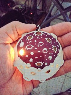 """""""Fly me to the moon Badge Good Company, Twitter Sign Up, 3d Printing, Badge, Raspberry, Christmas Bulbs, Moon, Holiday Decor, Clothing"""