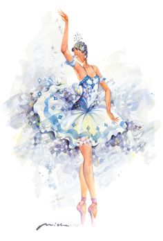The Fairy of Purity- Sleeping Beauty Ballet