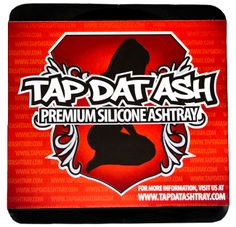 Tap Dat Ash is the last ashtray you'll ever need. Its hefty silicone rubber construction resists temperatures up to 300° C (that's around 570° F). Unlike a traditional glass or ceramic ashtray, Tap Dat Ash is unbreakable.