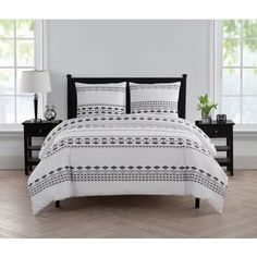 Shop for VCNY Home Azteca Duvet Cover Set. Free Shipping on orders over $45 at Overstock.com - Your Online Fashion Bedding Outlet Store! Get 5% in rewards with Club O! - 23053803