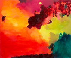 "Saatchi Art Artist Marta Zamarska; Painting, ""Fire Opal 2"" #art"
