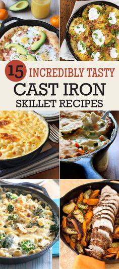 15 Incredibly Tasty Cast Iron Skillet Recipes