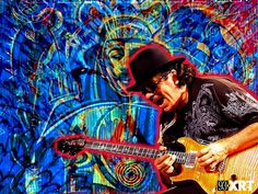 Carlos Santana - One of the undisputed guitar gods