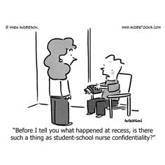 School nurse humor!