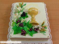 Torta 1. sväté prijímanie _ Holly Lord _ Báječné torty od Ivanky a Slavomíra * Fabulous cakes * Báječné dorty