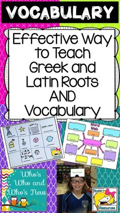 Awesome blog post on great ways to teach vocabulary!