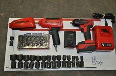 Snap-On-Tools-Impact-Wrench-Swivel-Sockets-Cordless-Impact-18-Volt