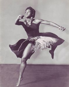 dancer and choreographer pearl primus, PhD.
