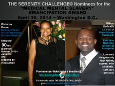 Talkin' bout' a new Way of thinking in Self-Help Medical Care - Serenity Weight Loss and Detoxification Program  Purchase your ticket make a donation @ http://www.gofundme.com/selflove  For more info about  THE SERENITY CHALLENGE © go to bootcampschedule.eventbrite.com