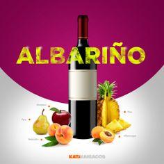 ¡Albariño!  Delicioso y refrescante vino Albariño!