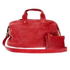 #zady.com #messenger bag #durable nubuck leather #natural #unwaxed #vivier