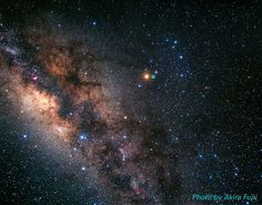 The Milky Way and Scorpius Constellation (ground-based image)