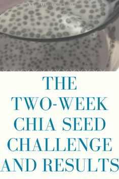 If chia seeds are so healthy, then can you lose weight eating them every day? We tried it here is how much weight we lost Chia Gel, Chia Seed Breakfast, Vanilla Recipes, Weight Loss Challenge, Chia Pudding, Pudding Recipes, Low Sugar, No Carb Diets, Chia Seeds