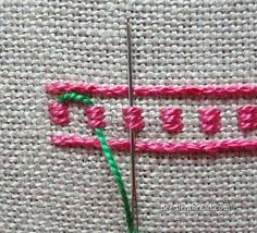 french knots in embroidery French Knot Embroidery, Embroidery Stitches Tutorial, Simple Embroidery, Crewel Embroidery, Hand Embroidery Designs, Embroidery Techniques, Ribbon Embroidery, Cross Stitch Embroidery, Embroidery Patterns