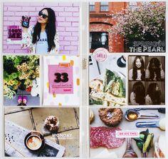 2015 Project Life: Week Twelve by KellyPurkey at @studio_calico