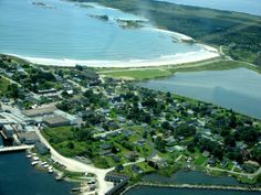 Lockeport's Crescent Beach - one of the best white sand beaches in the County! Once featured on the Canadian 50 dollar bill! Visit the Crescent Beach Centre while there.