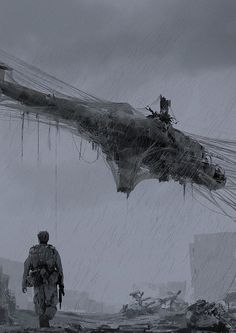 Concept art for the TV Series 'Zona'