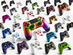 #ps4 #ps4 #xbox #xbox360 #xboxone #amazing #gammer #game #pad #controller #colorful #white #blue #black #gray #rainbow #green #light #sexy #cool #best