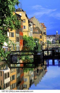 La Petite France in Strasbourg ~ Alsace, France