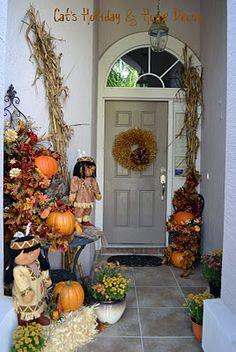 Thanksgiving Door Decor