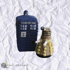 Dalek y Tardis, personajes de la serie Doctor Who by black mambart