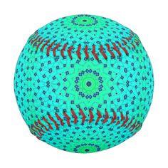 Sea green lattice kaleidoscope pattern.