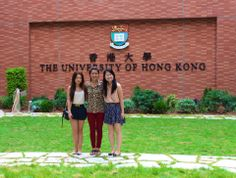 Kit at the University of Hong Kong - study there on UCEAP!