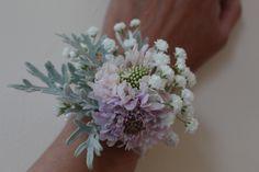 August wrist corsage