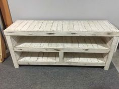 Rustic Entertainment Unit TV Stand & Rack