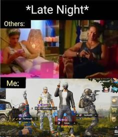 #pubg #pubgmobile #gamergirl #gamers #pubgmeme Late Nights, Memes, Funny, Movie Posters, Film Poster, Popcorn Posters, Funny Parenting, Film Posters, Meme