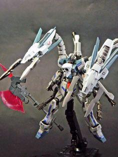 "GUNDAM GUY: HGBF 1/144 Crossbone Maoh ""Drache Traverser"" - Custom Build"