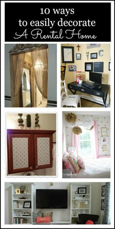 10 easy ways to decorate and personalize a rental home or military housing