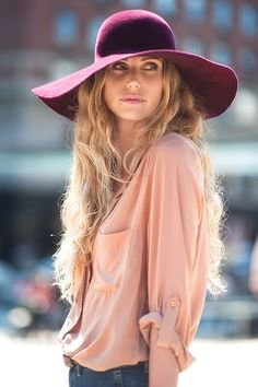 Street Style/Hat/Top