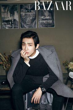 Lee Joon - Harper's Bazaar Magazine November Issue '13