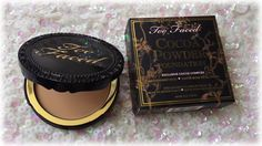 Color Me With Beauty: TOO FACED Cocoa Powder Foundation - Because a girl cannot resist chocolate