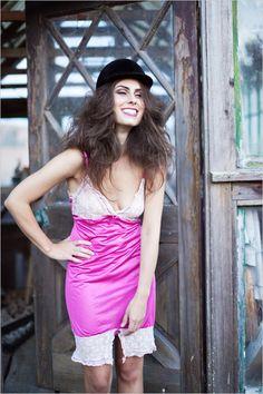 pink nightie for boudoir