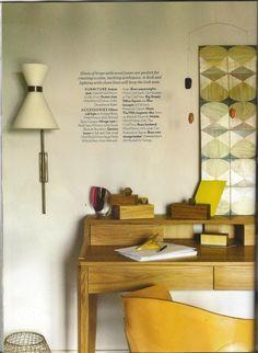 Moonish tiles as seen in Homes & Gardens