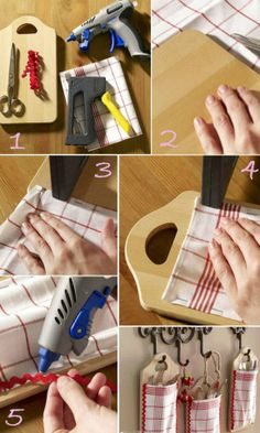 Diy crafts and projects: diy : wonderful cutlery holder идеи для творчества Do It Yourself Projects, Diy Projects To Try, Craft Projects, Cutlery Storage, Cutlery Holder, Pegboard Storage, Smart Storage, Diy Y Manualidades, Ideas Para Organizar