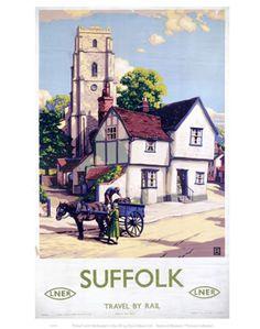 Suffolk Travel By Rail LNER