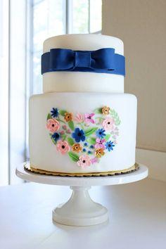 Our beautiful wedding cake