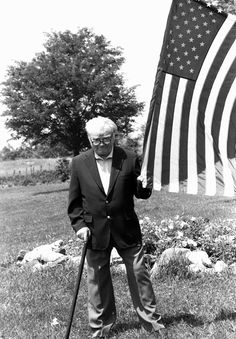 An 82-year-old James Cagney. Once a Yankee Doodle Dandy, always a Yankee Doodle Dandy!