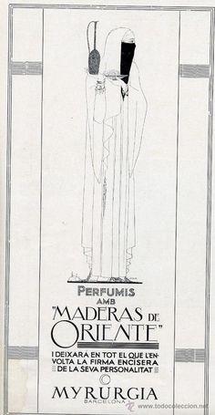 MYRURGIA 1929 MADERAS DE ORIENTE RETAL REVISTA EN CATALAN (Coleccionismo - Revistas y Periódicos Modernos (a partir de 1.940) - Otros)