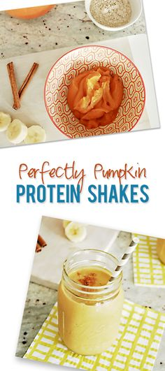 Food and Drink.mPerfectly Pumpkin Protein Shake  howdoesshe.com