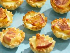 Get Peaches and Cream Recipe from Food Network Peaches and Devon cream/clotted creme phyllo cups with amaretto